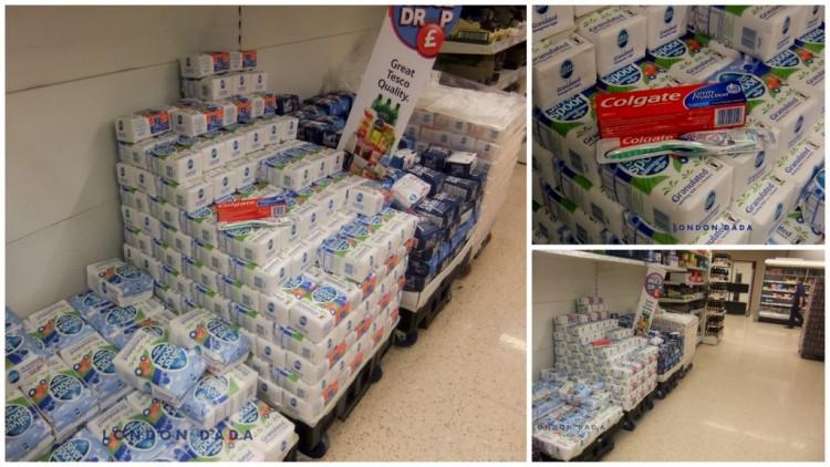 Supermart juxtaposition 1 ( temporary installation)
